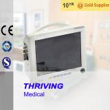 Монитор 12 параметров дюйма Multi медицинский портативный терпеливейший (THR-PM210L)