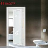 Porte en aluminium de tissu pour rideaux de lame simple économique pour la toilette