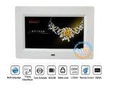 Дюйм картинной рамки 7 датчика движения СИД петли фотоего MP3 MP4 нот видео- цифров (MW-079DPF)