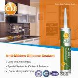 Sealant силикона Анти--Mildew RTV слипчивый для кухни