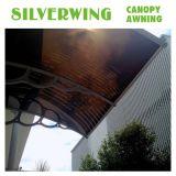 Pabellón claro de la cubierta del patio del balcón del policarbonato del Gazebo para los toldos de la puerta (YY-H)