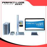 20W de Laser die van de Vezel van de Druk van de Laser van het roestvrij staal de Prijs van de Machine merken