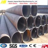 Tubo nero d'acciaio rotondo del tubo ERW di ERW per la costruzione di edifici