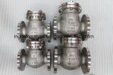 API 150 фнт Ss фланцевый обратный клапан поворотного механизма