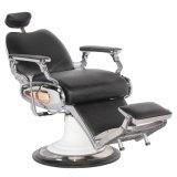 Luxuxherrenfriseur-Stuhl mit justierbarem Kopfstützen-Salon-Möbel-Stuhl