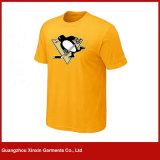 도매 둥근 목 평야 남녀 공통 티 셔츠 (R37)