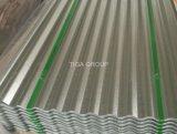 波形Alu亜鉛上塗を施してある鋼板熱いすくいのGalvalumeの屋根ふきシート