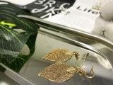 모조 형식 보석 공장 지역 인종 잎 모양 귀걸이