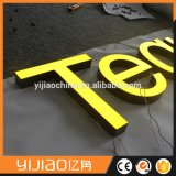 Scrim bricolage inverter o Alto Brilho Aceso Cartas/face iluminada letra do alfabeto