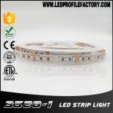 luz de tira do diodo emissor de luz 6500K, luz de tira do diodo emissor de luz do UL, tira do diodo emissor de luz do CRI 90