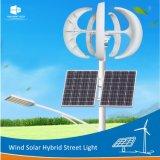 縦の軸線のMaglevの発電機の風の太陽ハイブリッドLED街灯