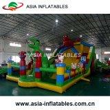 子供のためにコンボ膨脹可能な跳躍の城