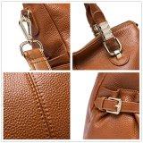 Saco de ombro do Satchel da bolsa do couro da boa qualidade para mulheres