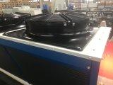 4つのファンは冷蔵室の冷房装置の部品または工場価格のためのアウトレット空気によって冷却されるVのタイプコンデンサーを越える!
