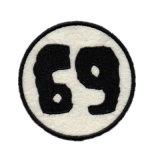カスタム昇進(YBpH05)のためのロゴによって編まれるパッチの刺繍パッチ
