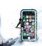 水証拠の低下の証拠のiPhone Seのための完全な保護電話箱