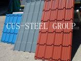Z-Tipo azulejos de Polonia de material para techos del metal del costillaje/hojas de acero del material para techos del perfil del azulejo