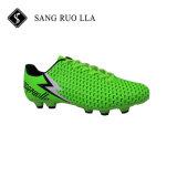 Высокое качество мужчин футбола футбольные бутсы с шипами обувь