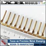 OEM Custom emboutissage de métal cuivre Connecteur mâle avec prix d'usine