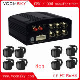 8CH 1080P beweglicher DVR Support Ahd Tvi Cvi des Auto-mit 4G und GPS