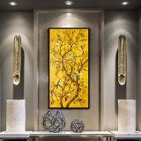 جدار فن زخرفة [ولّ بينتينغ] حديثة زهرة فن طبعات على نوع خيش