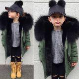 Дети Custom Parka куртка, детей, Parka Parka меха куртка куртка для девочек