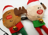 크리스마스 삐걱거리는 애완 동물 공급 개 장난감