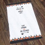 Holloween imprimiu a venda quente de toalha de cozinha