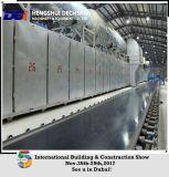 石膏ボードの生産ライン工場