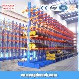Prateleira Cantílever lado único rack de armazenamento de aço