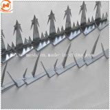 Скачки безопасности против подниматься с остроконечными предельно стены борона с остроконечными зубьями