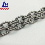 L'acciaio inossidabile SUS304 316 DIN766 mette la catena a maglia in cortocircuito