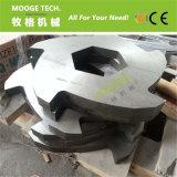 SKD11/D2 de Plastic de bladenmessen van uitstekende kwaliteit van de ontvezelmachinemaalmachine