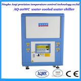 refrigeratore di acqua raffreddato ad acqua di raffreddamento di capienza 64.8kw per plastica