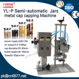 Máquina que capsula de los tarros del casquillo neumático del metal para la salsa de tomate (YL-P)