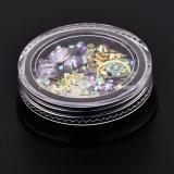 Kunst-Dekoration-Acryldiamant des Nagel-3D formt Rhinestones zu den Nagel-Kunst-Zubehör (NR-32)