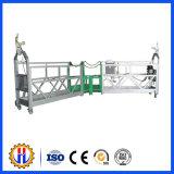 Élévateur électrique de sûreté de plate-forme suspendue pour la construction de bâtiments