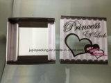 بالجملة جلد صندوق عالة علامة تجاريّة طباعة جميل هدب ورقيّة يعبّئ صناديق ([جب-بوإكس124])