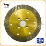 Heet Gedrukt 4 Duim Blad van de Zaag van de Diamant van het Blad van de Zaag van 114 mm het Turbo voor Scherpe Steen