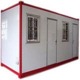 Camera fine vivente del contenitore