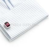 Cufflink 721 van de Purpere van het Kristal VAGULA van het Huwelijk Mensen van het Overhemd
