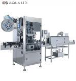 Bouteille d'eau de boisson automatique manchon rétractable usine d'étiquetage de la machine d'impression