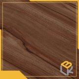 新しい家具、中国の製造業者からのワードローブのためのクルミの木製の穀物の装飾的なメラミンによって浸透させるペーパー