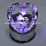 De Veelkleurige Houder van uitstekende kwaliteit van de Lamp van de Diamant van het Kristal