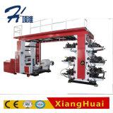 Impresora flexográfica de los colores de la fábrica de rodillo de la película multi de alta velocidad del papel