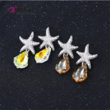 Charme Xuping Fashion CZ Crystal Star de la série de bijoux Earring Eardrops (E-126)