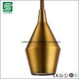 Portalámpara de la dimensión de una variable del diamante del socket de lámpara del metal de la vendimia de Colshine E27/E26
