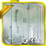 4mm-19mmの高品質のゆとりか染められた緩和されたシャワー室ガラスのドア
