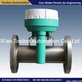Rotameter líquido da câmara de ar do metal de Digitas com interruptor para a água, gás