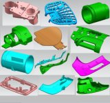 4つを形成するプラスチック型の鋳造物の工具細工型